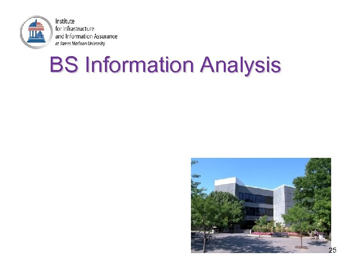BS Information Analysis 25