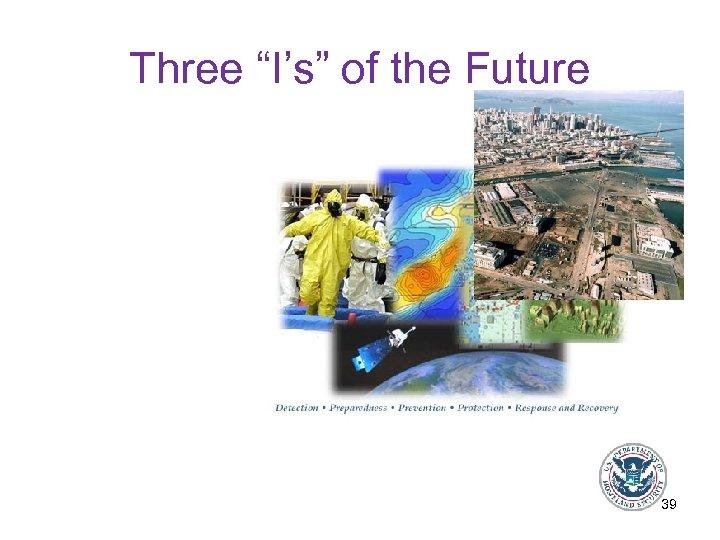 "Three ""I's"" of the Future 39"