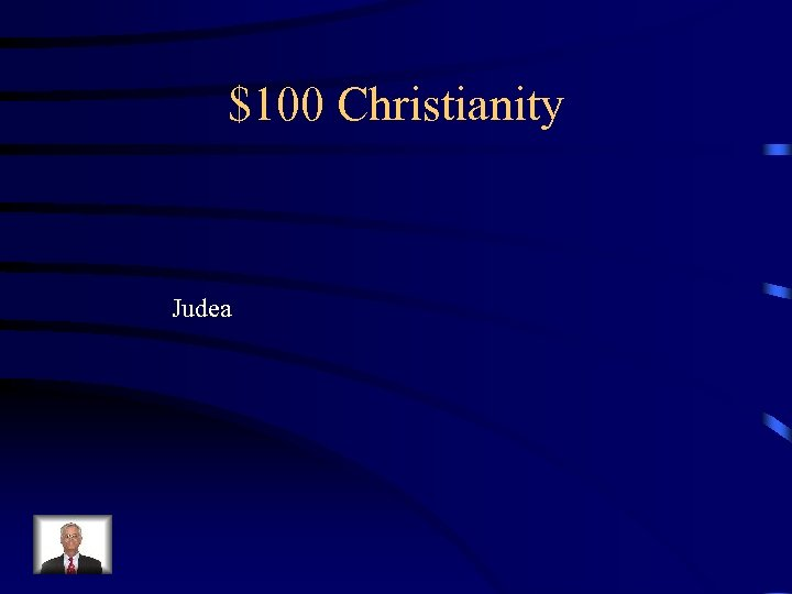 $100 Christianity Judea