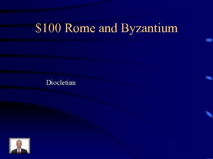 $100 Rome and Byzantium Diocletian