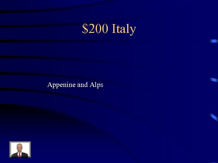 $200 Italy Appenine and Alps