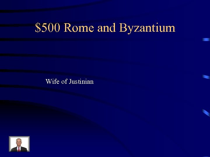 $500 Rome and Byzantium Wife of Justinian