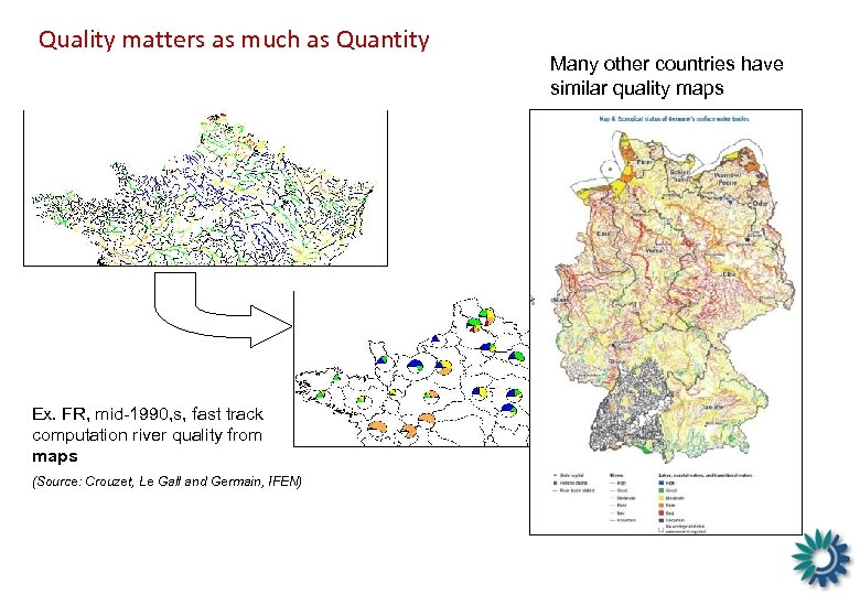 Quality matters as much as Quantity Ex. FR, mid-1990, s, fast track computation river