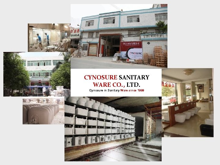 CYNOSURE SANITARY WARE CO. , LTD. Cynosure in Sanitary Ware since 1999