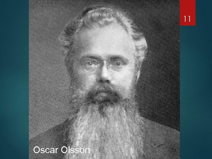11 Oscar Olsson