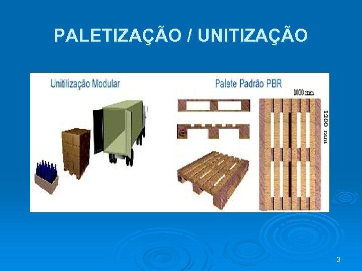 PALETIZAÇÃO / UNITIZAÇÃO 3