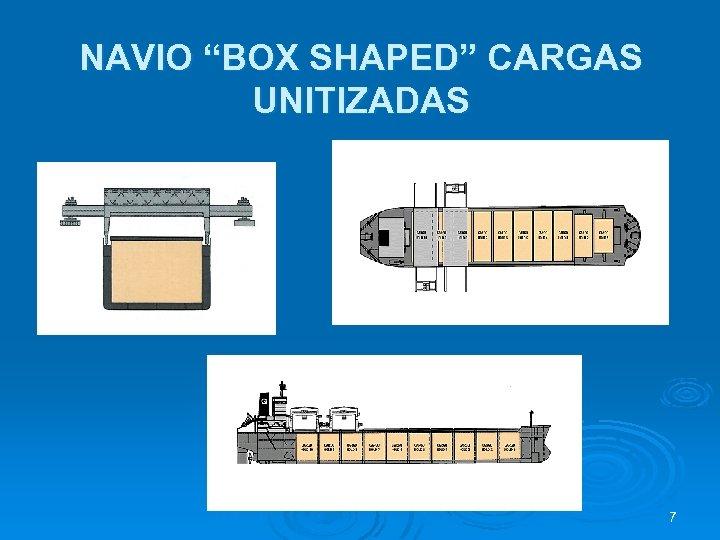 """NAVIO """"BOX SHAPED"""" CARGAS UNITIZADAS 7"""