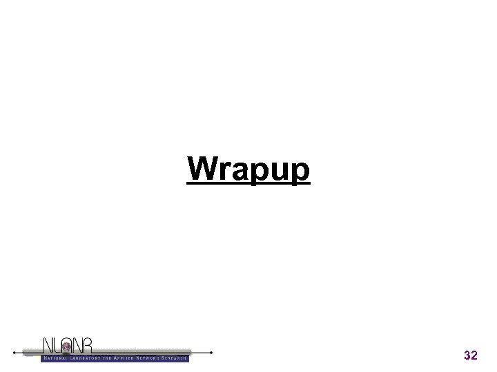 Wrapup 32