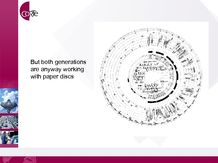 But both generations are anyway working with paper discs