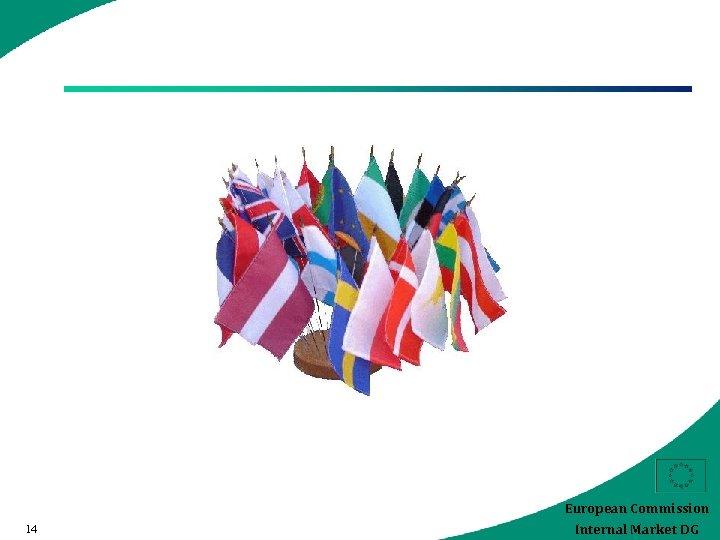 European Commission 14 Internal Market DG