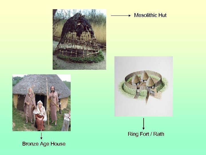 Mesolithic Hut Ring Fort / Rath Bronze Age House