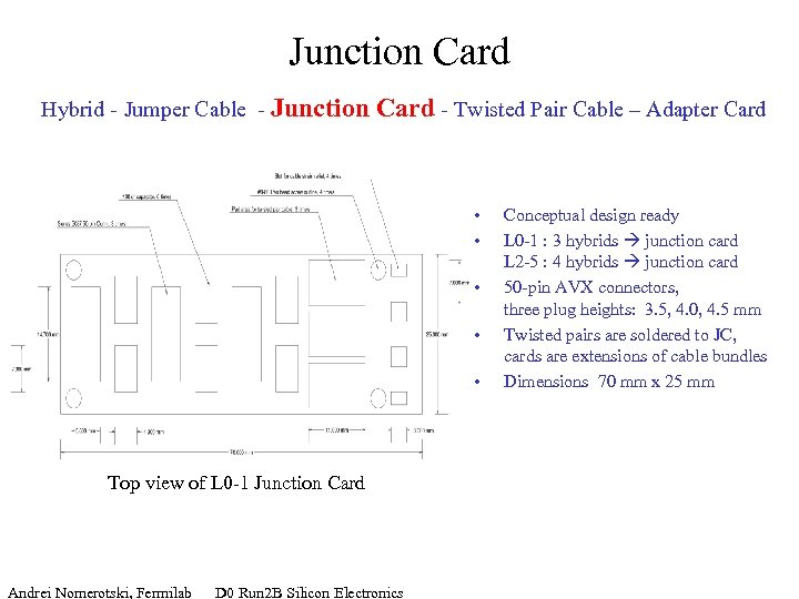 Junction Card Hybrid - Jumper Cable - Junction Card - Twisted Pair Cable –
