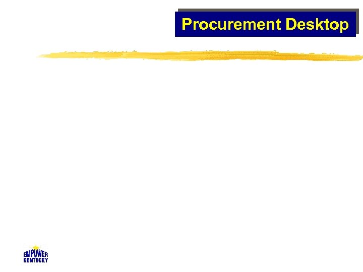 Procurement Desktop