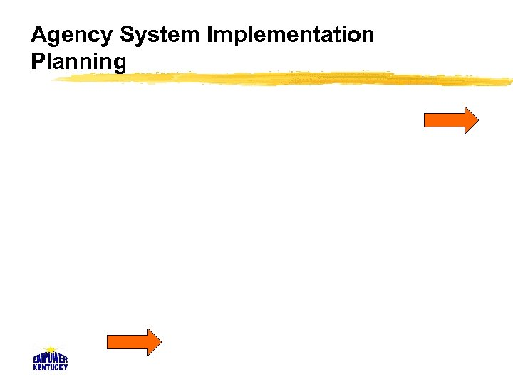 Agency System Implementation Planning