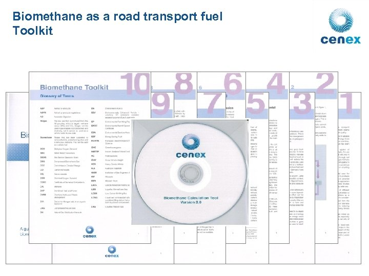 Biomethane as a road transport fuel Toolkit