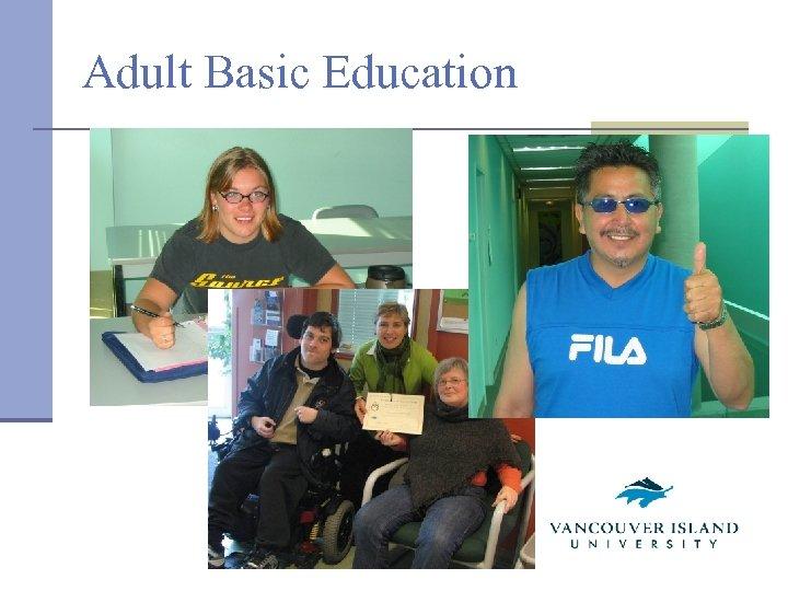 Adult Basic Education