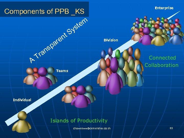 Components of PPB _KS em st Sy nt re pa ns ra T A