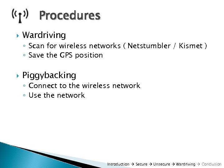Wireless Security by Frank Pfleger Overview Introduction