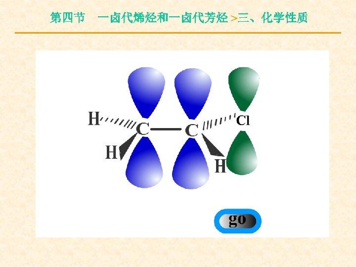 第四节 一卤代烯烃和一卤代芳烃 >三、化学性质