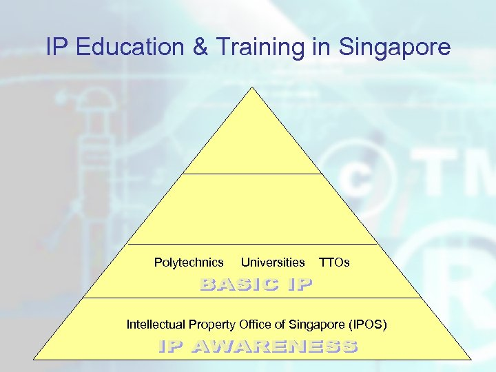 IP Education & Training in Singapore Polytechnics Universities TTOs Intellectual Property Office of Singapore
