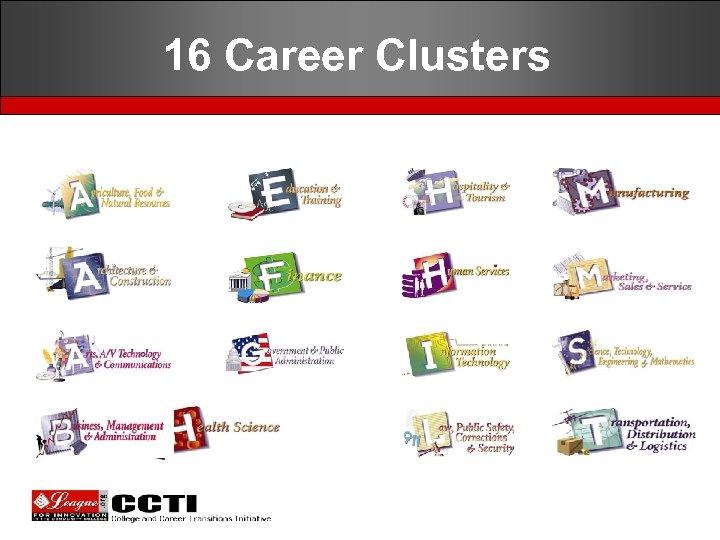 16 Career Clusters