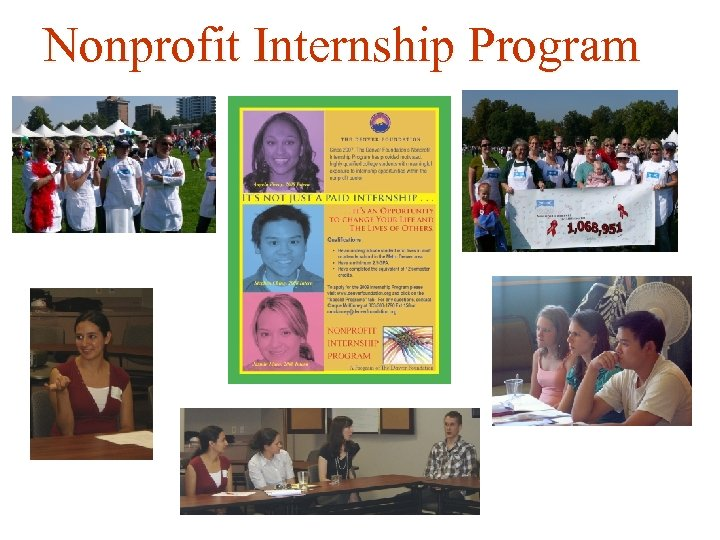 Nonprofit Internship Program