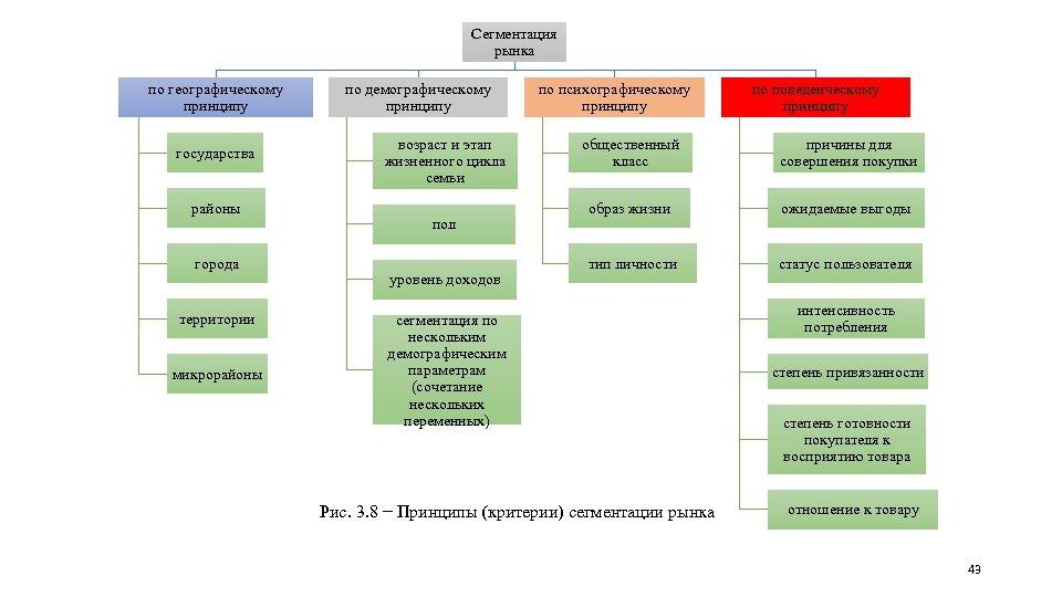 Сегментация рынка по географическому принципу государства районы города территории микрорайоны по демографическому принципу возраст