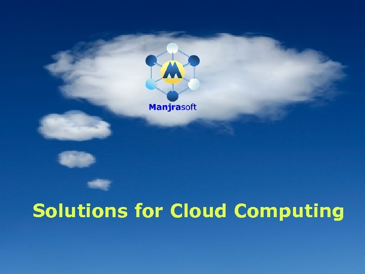 Solutions for Cloud Computing 66
