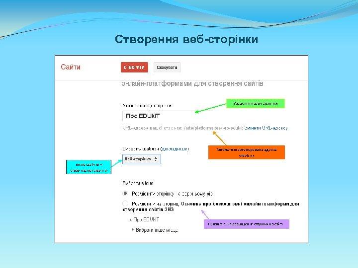 Створення веб-сторінки