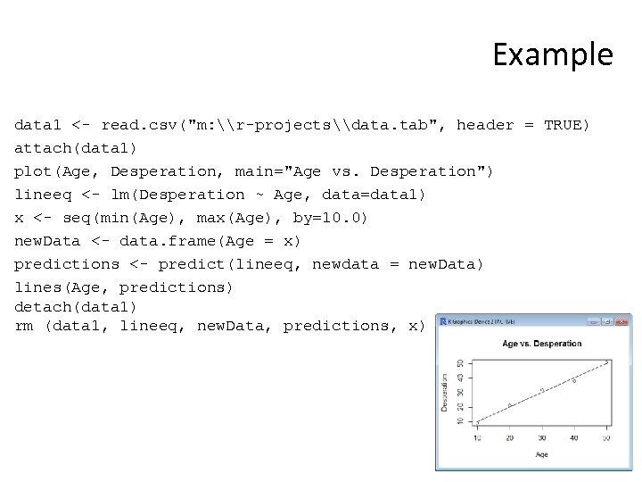 Example data 1 <- read. csv(