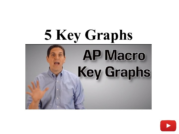 5 Key Graphs