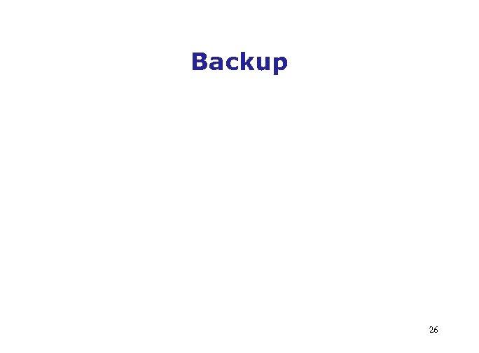 Backup 26