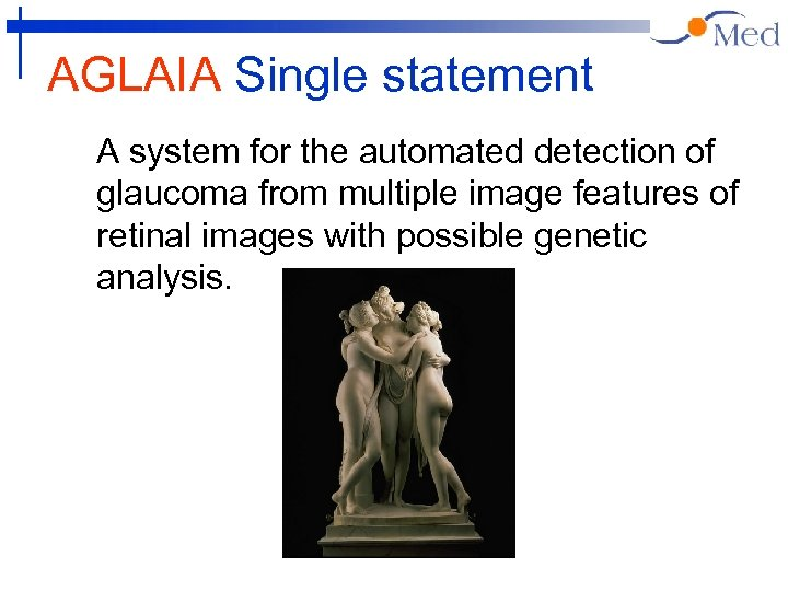 AGLAIA Single statement A system for the automated detection of glaucoma from multiple image