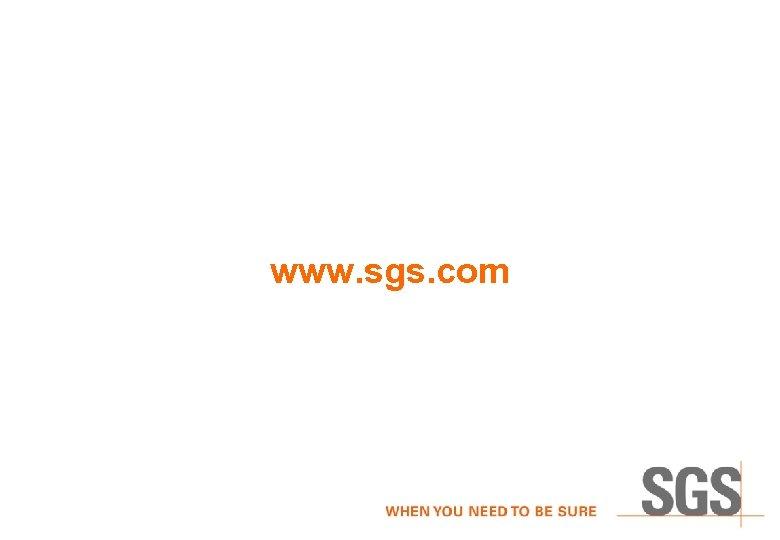 www. sgs. com