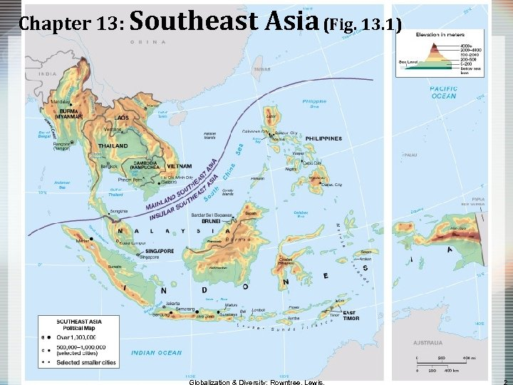 Chapter 13: Southeast Asia (Fig. 13. 1)