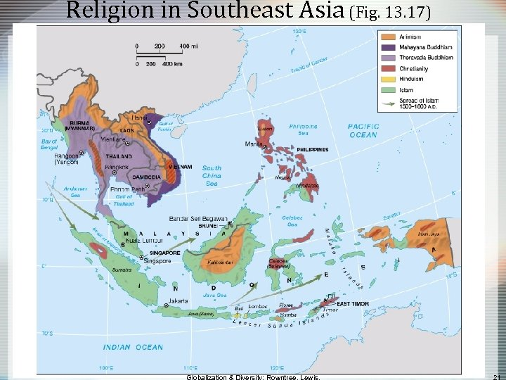 Religion in Southeast Asia (Fig. 13. 17)