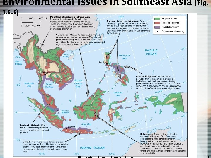 Environmental Issues in Southeast Asia (Fig. 13. 3)