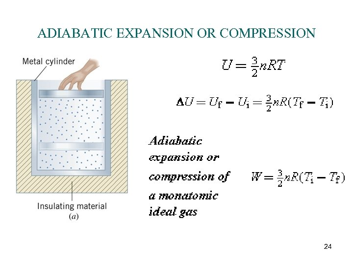 ADIABATIC EXPANSION OR COMPRESSION 24