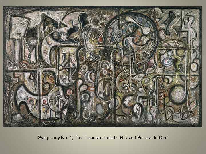 Symphony No. 1, The Transcendental – Richard Poussette-Dart