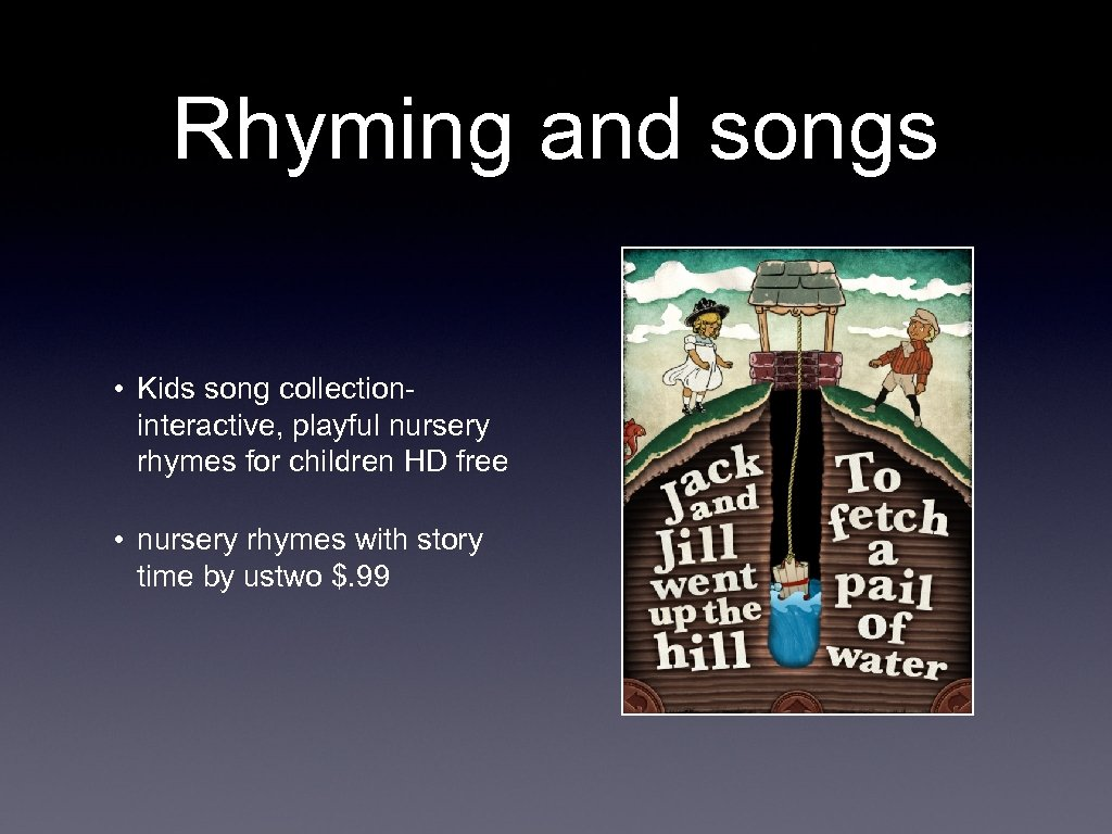 Rhyming and songs • Kids song collectioninteractive, playful nursery rhymes for children HD free