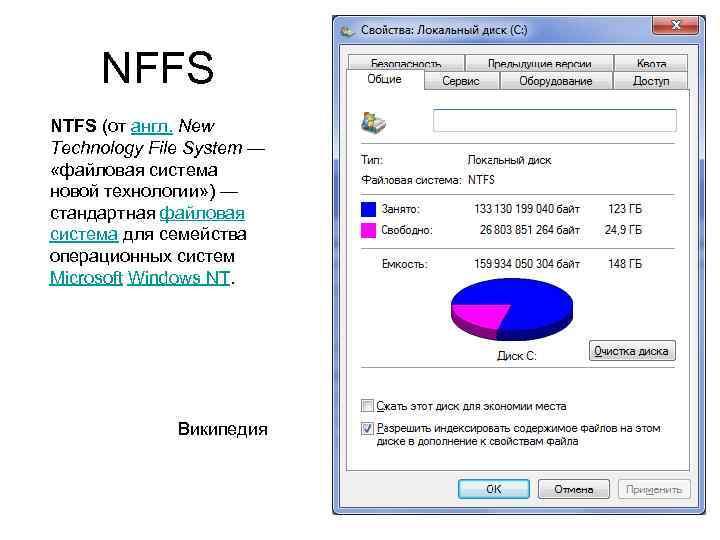 NFFS NTFS (от англ. New Technology File System — «файловая система новой технологии» )