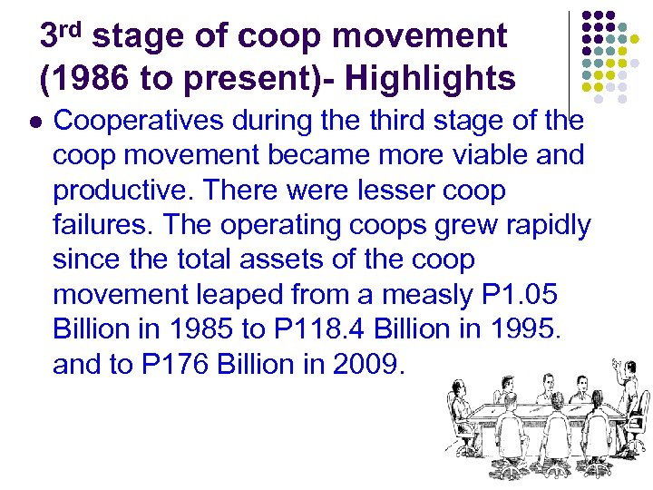 3 rd stage of coop movement (1986 to present)- Highlights l Cooperatives during the