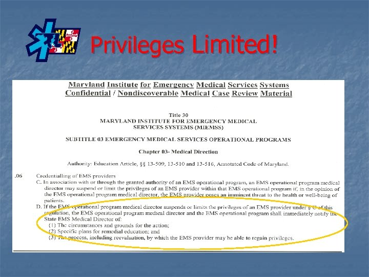 Privileges Limited!
