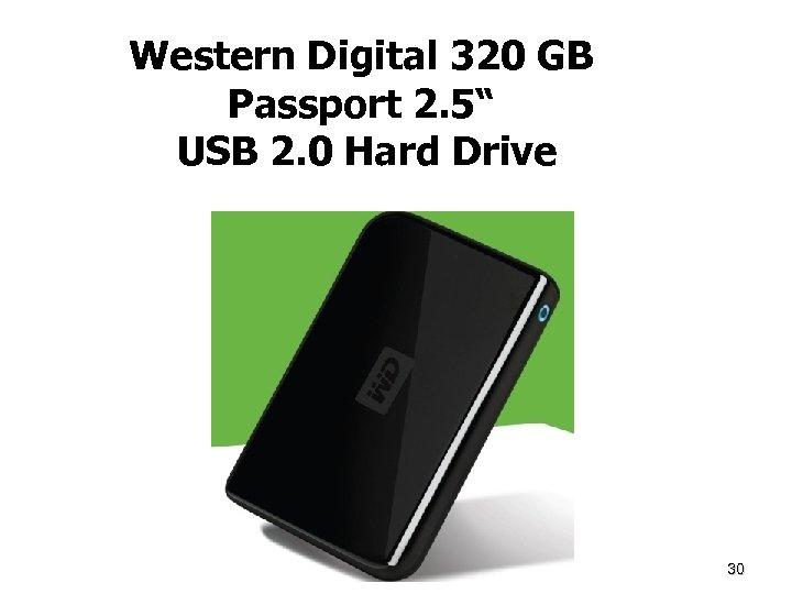 """Western Digital 320 GB Passport 2. 5"""" USB 2. 0 Hard Drive Dr. Mercola"""