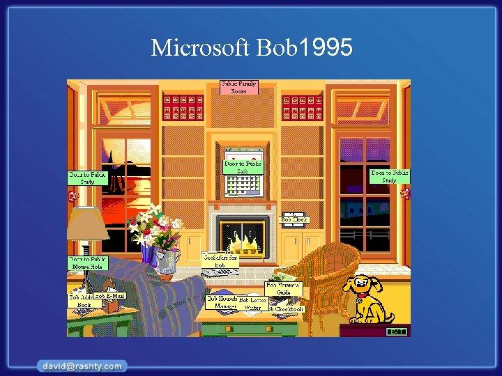 Microsoft Bob 1995