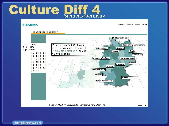 Culture Diff 4 Siemens Germany