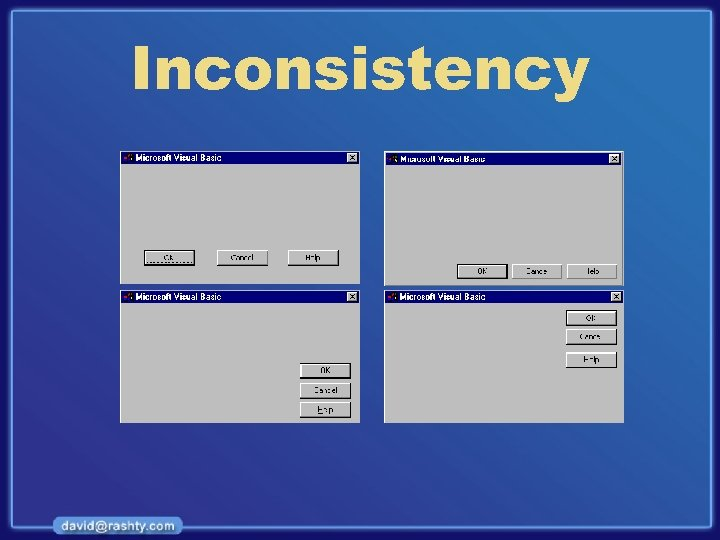 Inconsistency