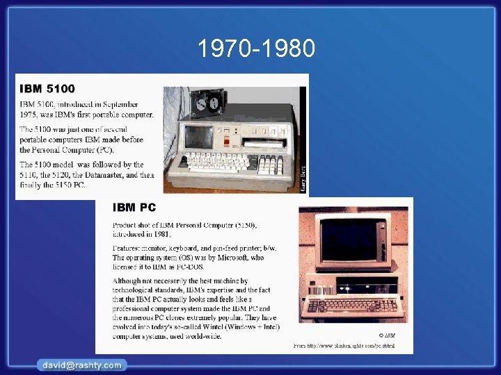 1970 -1980