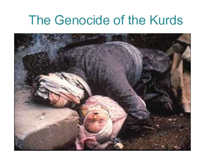 The Genocide of the Kurds