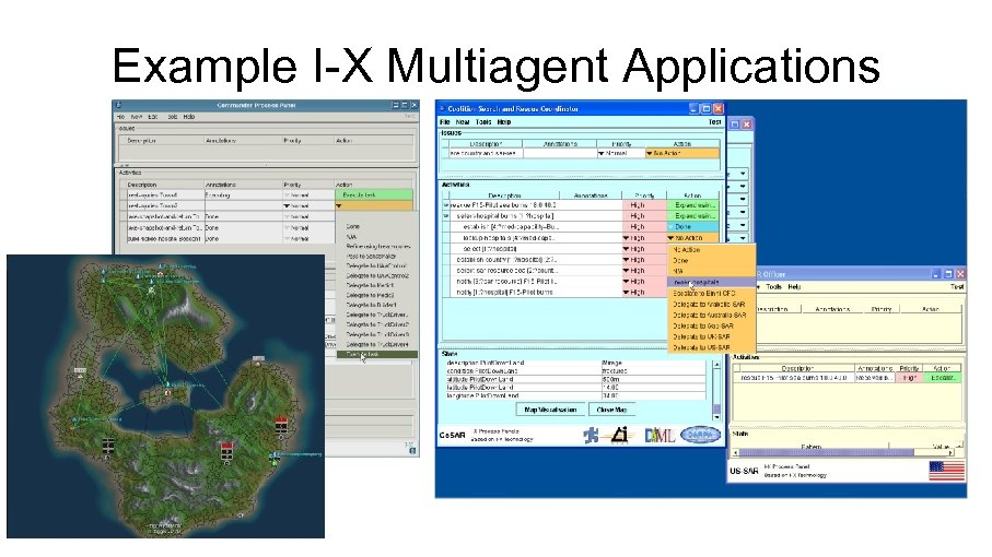 Example I-X Multiagent Applications